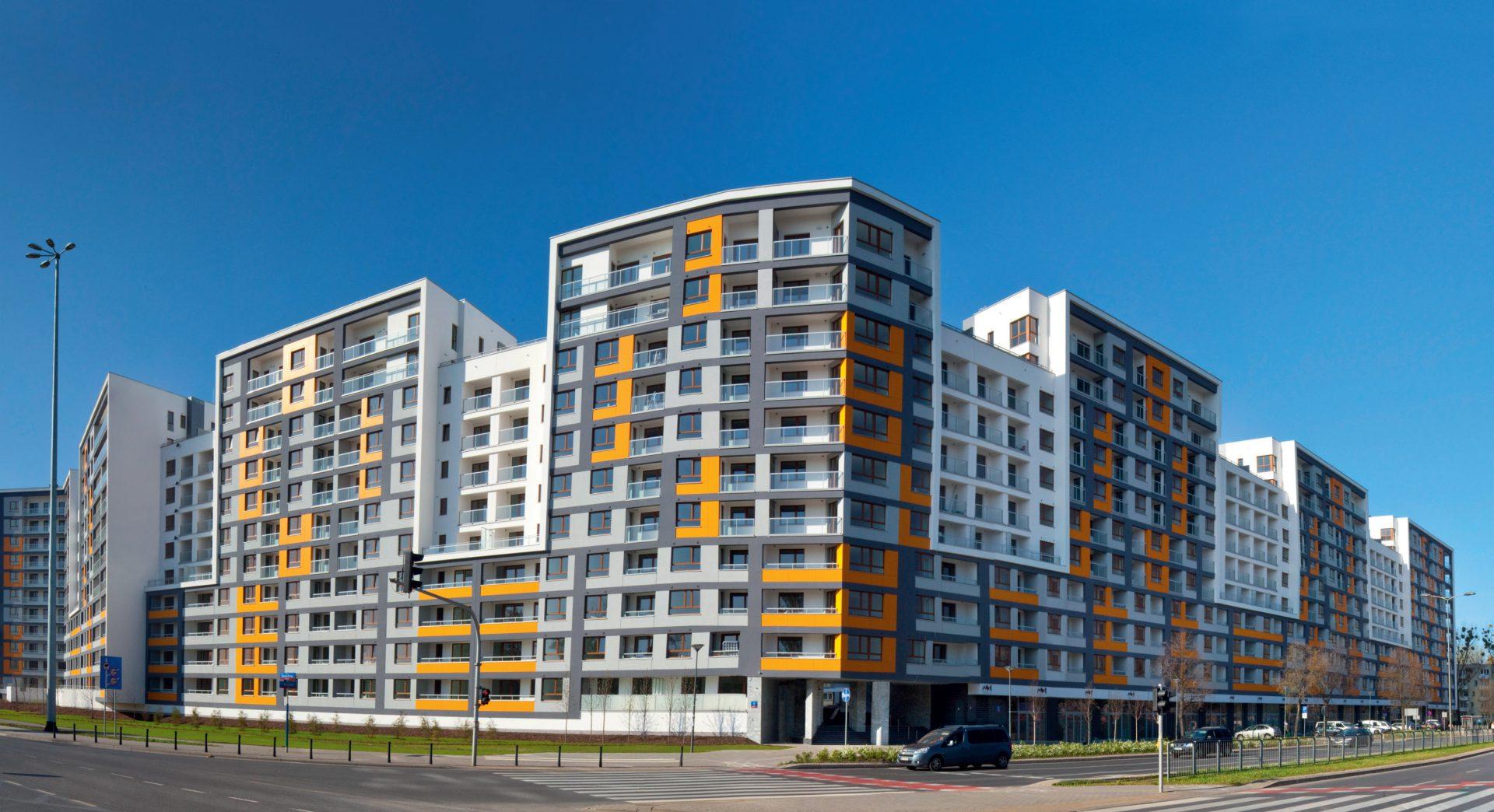 Osiedle Słodowiec City, Warszawa, Polska. Inwestor: Kaliope Sp z o.o., Grupa Turret Development.