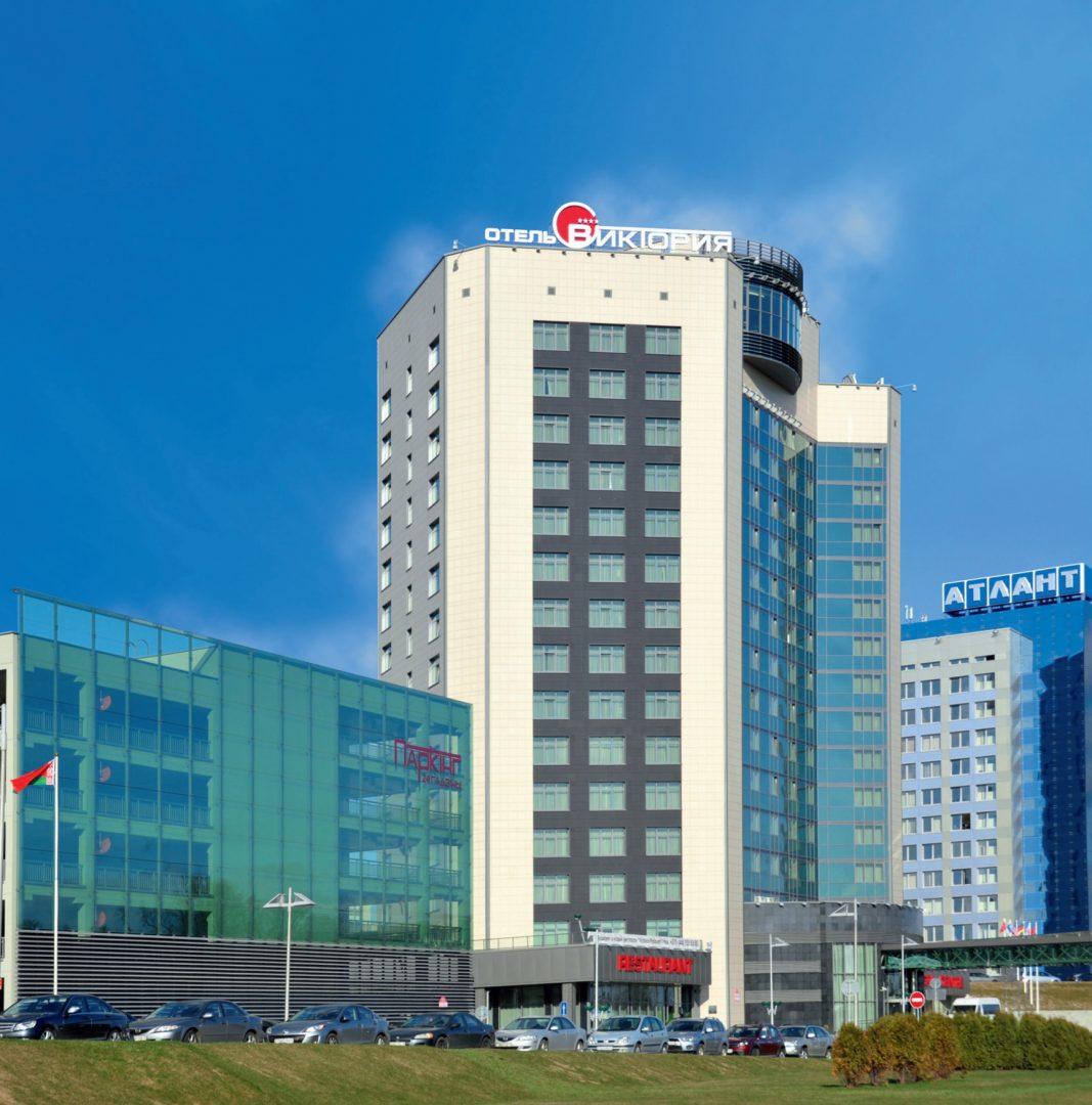 Hotel Victoria, Mińsk, Białoruś. Inwestor: KUP Biznes Centr Stolica.