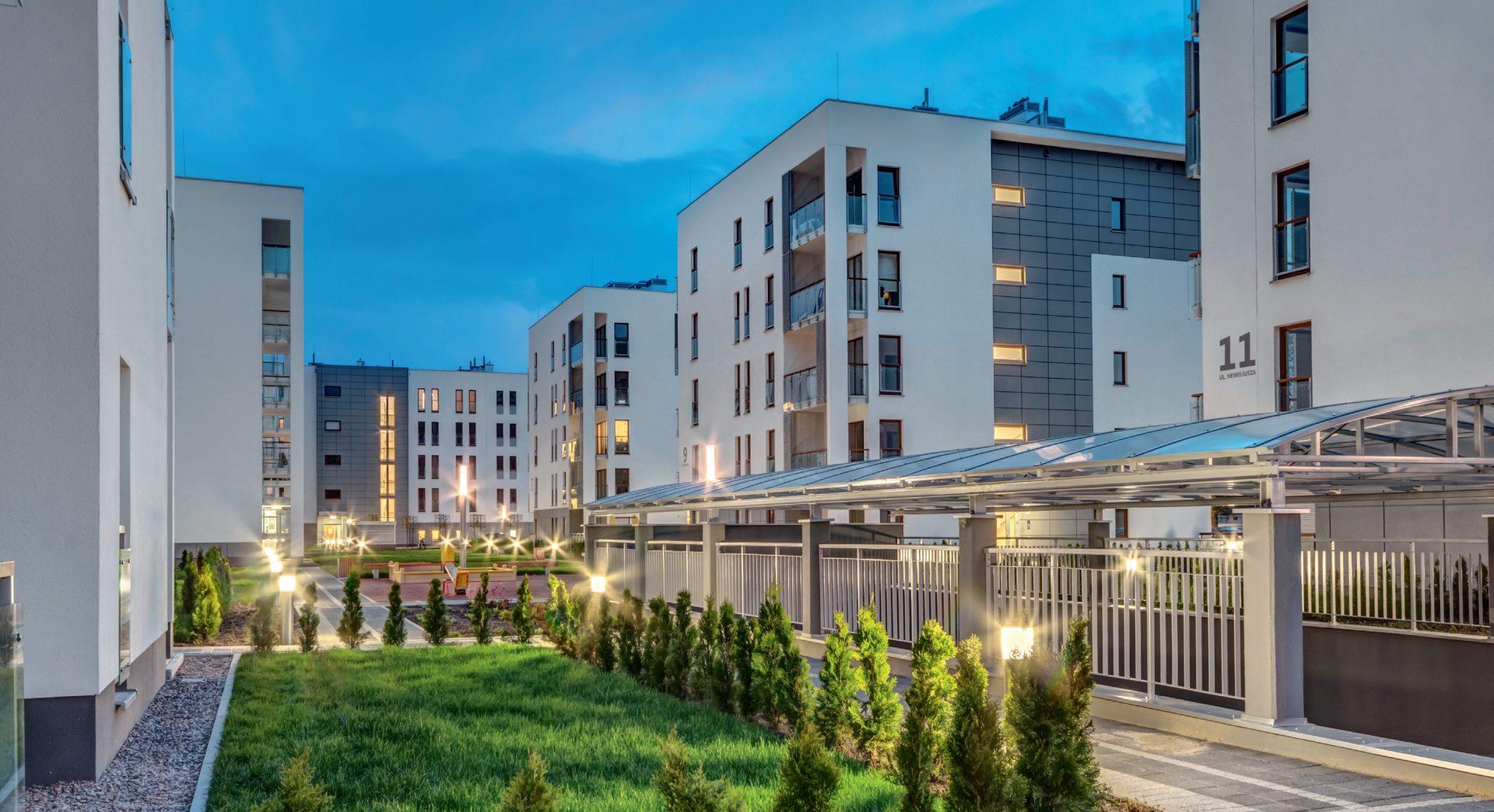 Osiedle Hevelia, Poznań, Polska. Inwestor: Monday Development.