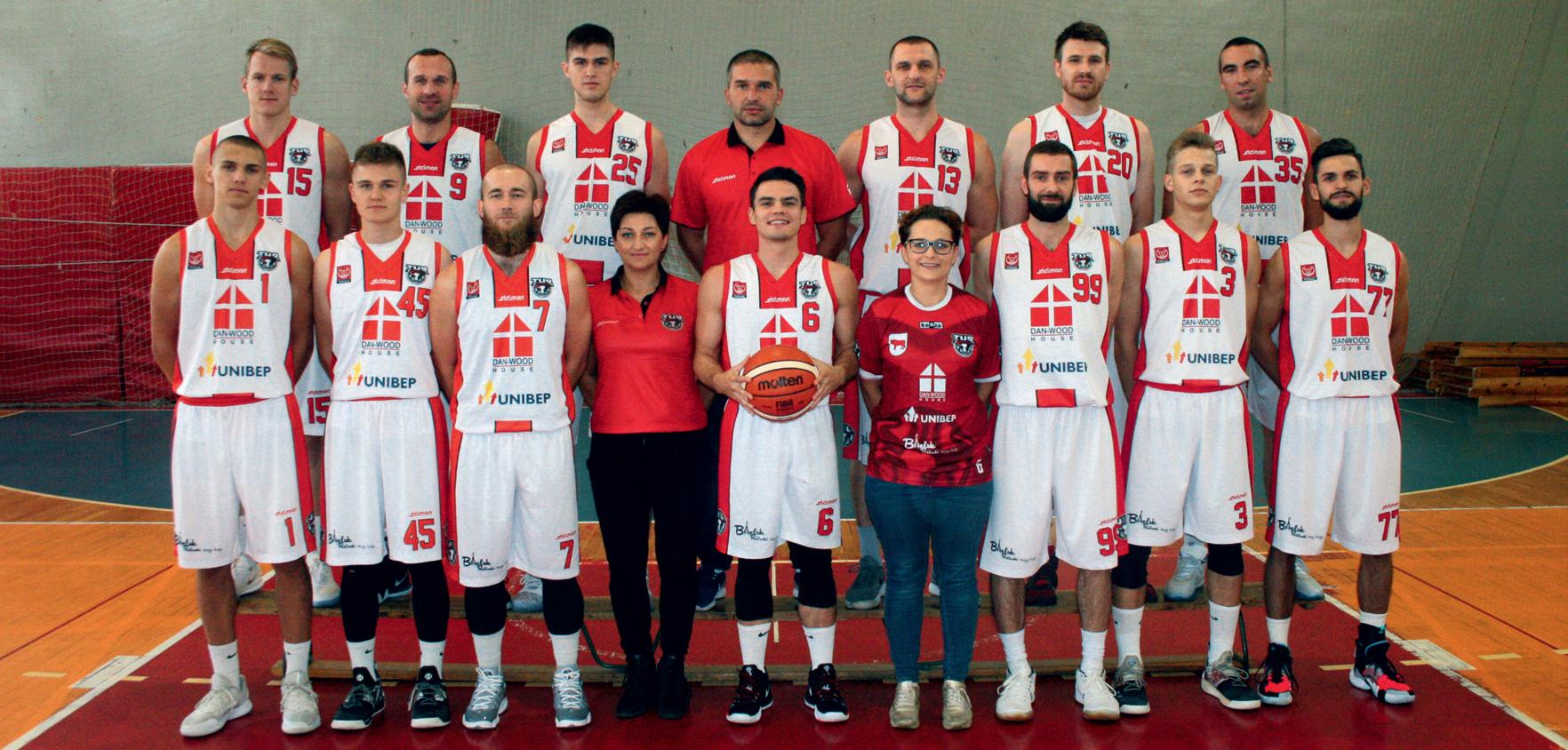 Drużyna Tur Basket Bielsk Podlaski występująca w sezonie 2018-2019.