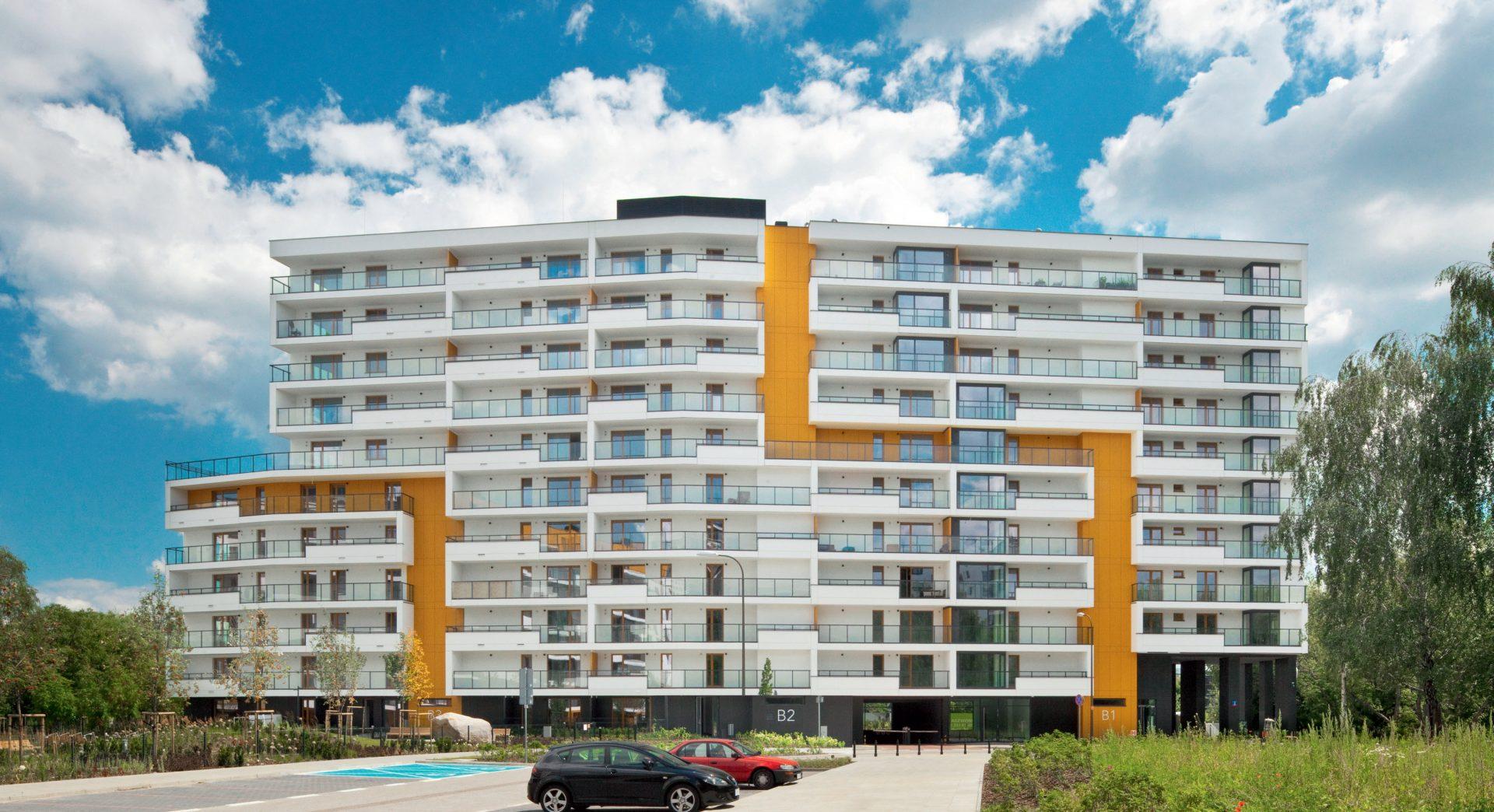 Apartamenty Mokotów nad Skarpą, Warszawa, Polska. Inwestor: Dom Development S.A.