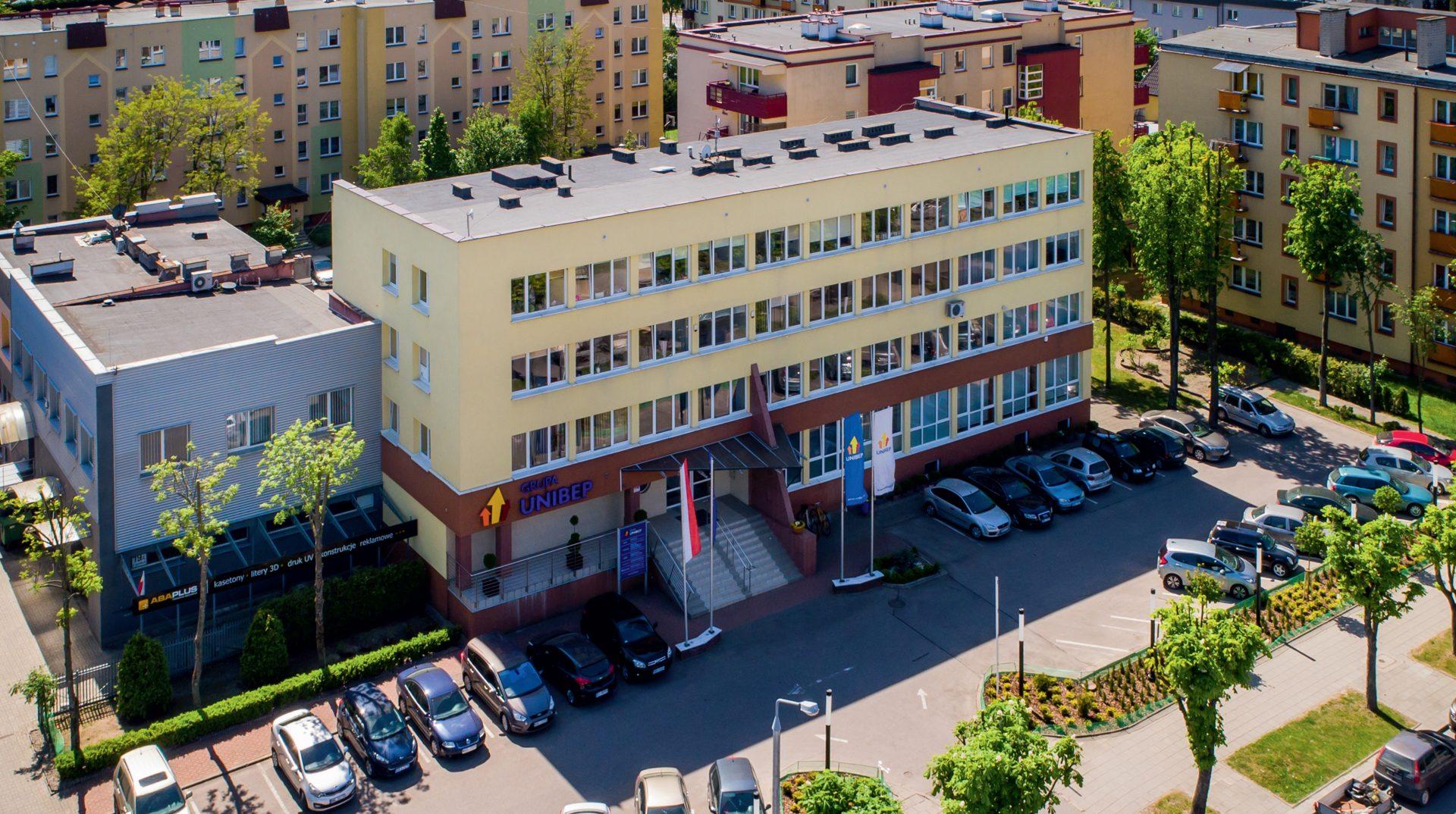 Główna siedziba Unibep SA w Bielsku Podlaskim