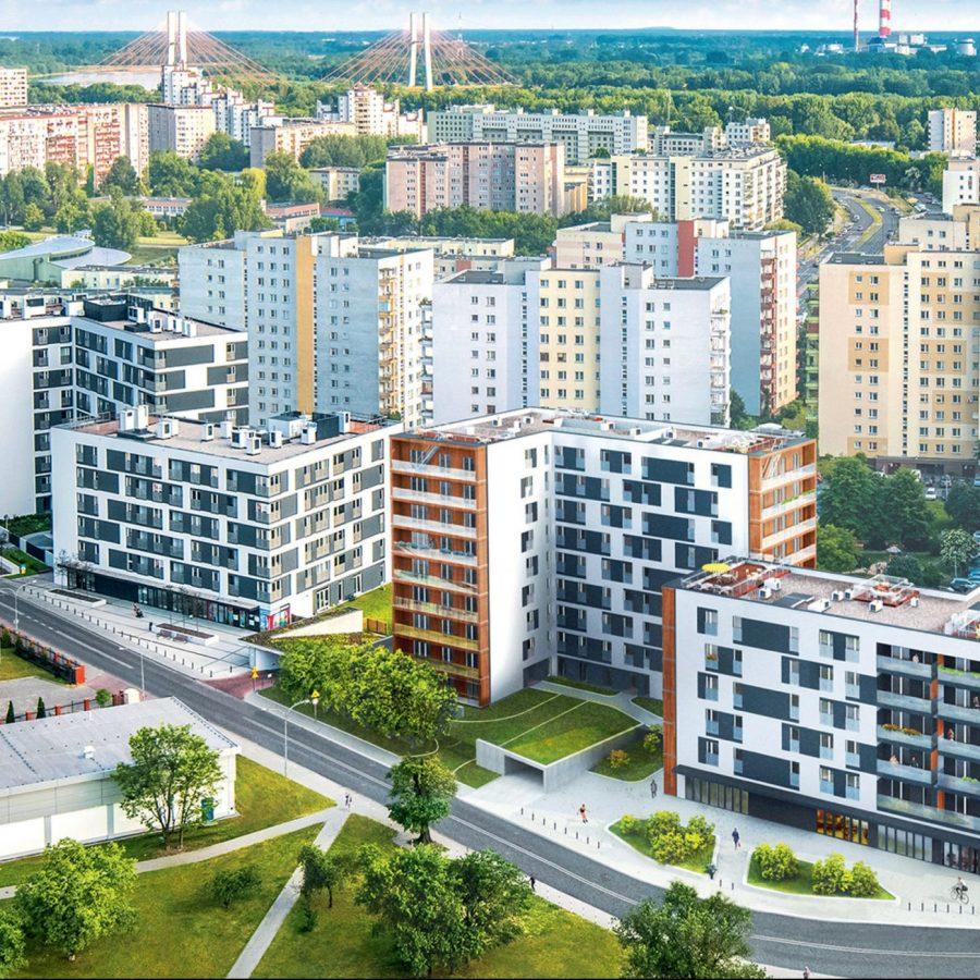 Osiedle 360 stopni,Warszawa, Polska. Inwestor: Unidevelopment SA.