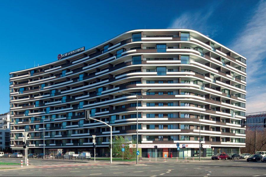 Dom pod Zegarem.Warszawa. Polska. Inwestor: Dom Development S.A.