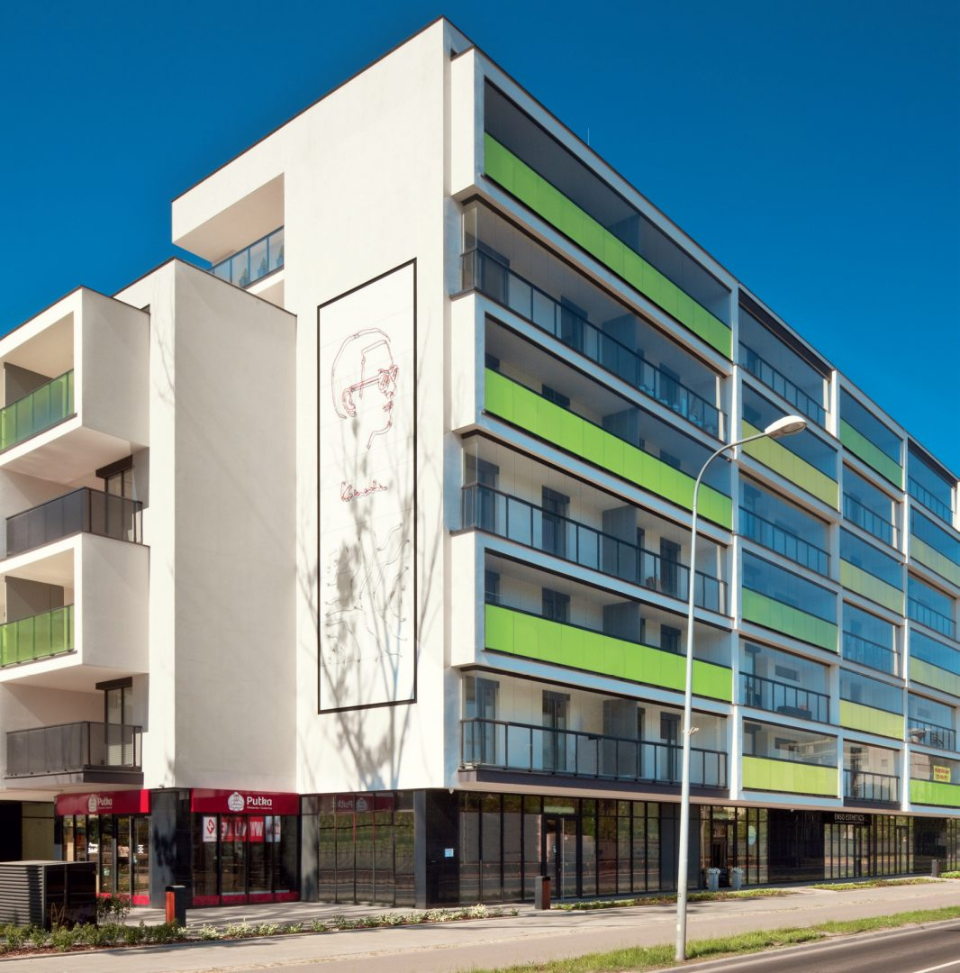 Żoliborz Artystyczny, Warszawa, Polska. Inwestor: Dom Development S.A.